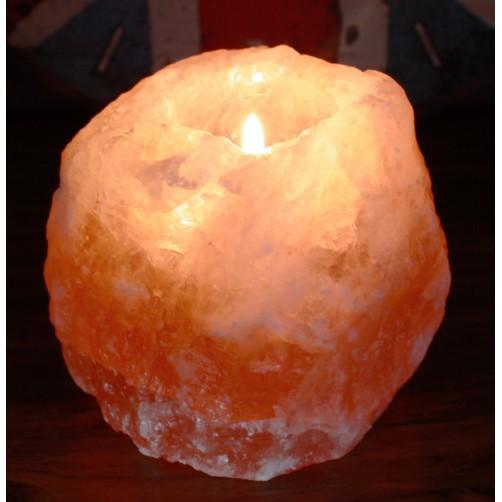 Svečnik iz himalajske soli