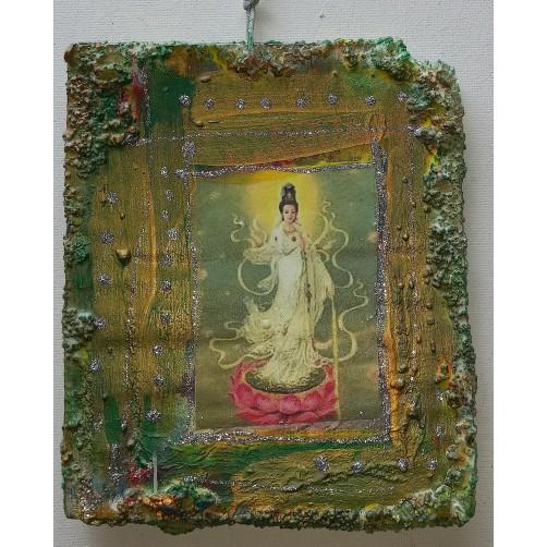 Kuan Yin 14 x 12 cm