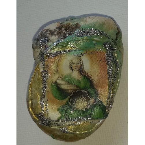 Abundancija - angel obilja, kamen sreče 4,5 x 3 cm