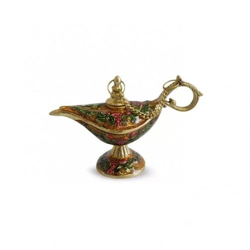 Aladin luksuzna medeninasta posoda za masažna olja