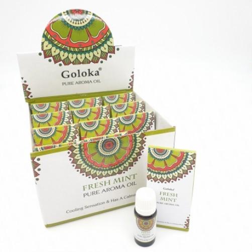 Goloka naravno aroma olje Fresh Mint sveža meta
