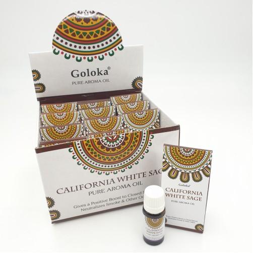 Goloka naravno aroma olje Kalifornijski beli žajbelj