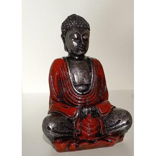 Buda kipec  srebrnooranžen 8 x 6 x 4 cm