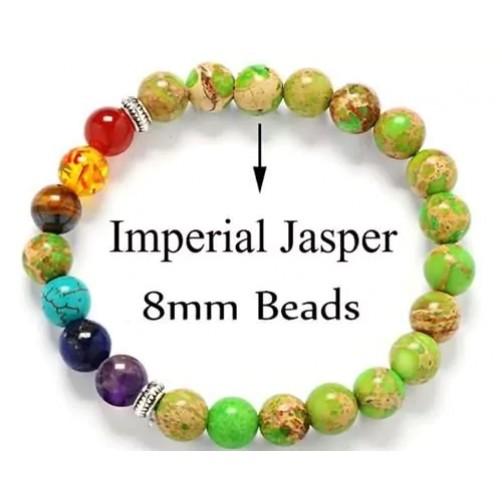 Čakra zapestnica imperial jaspis