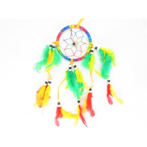 Dreamcatcher lovilec sanj mavrica 8 x 30 cm