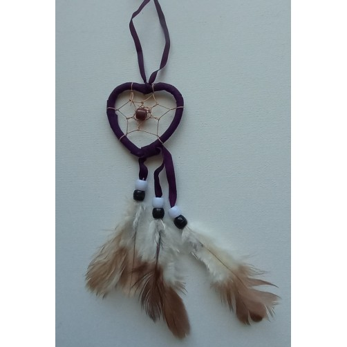Dreamcatcher violet lovilec sanj srce