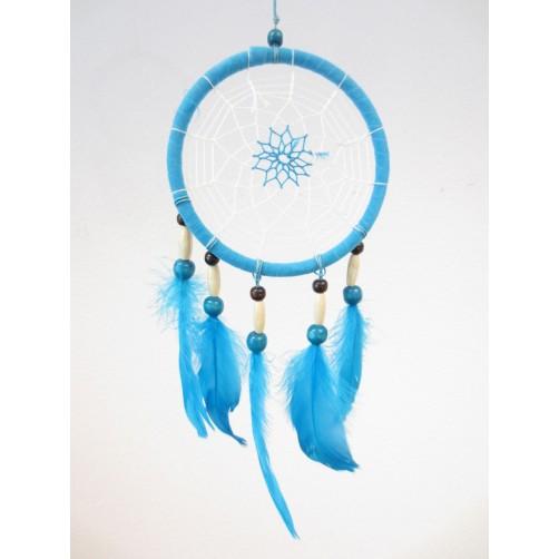 Dreamcatcher, lovilec sanj Turkiz  14 x 40 cm