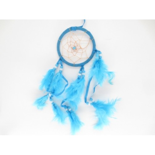 Dreamcatcher, lovilec sanj Turkiz  8 x 30 cm