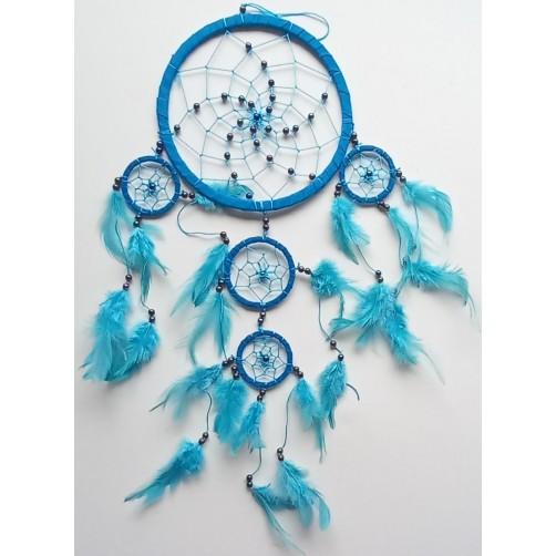 Dreamcatchers, lovilec sanj  turkiz 17 cm