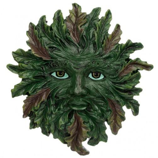 Green Man, zeleni človek, stenska dekoracija