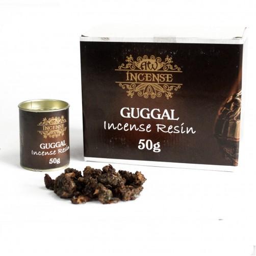 Guggal indijska kadilna kadilna smola