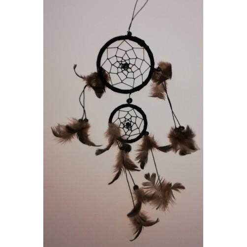Dreamcatchers / lovilec sanj - črn  003