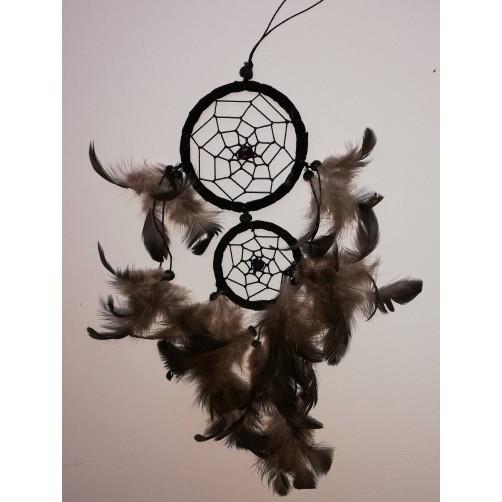 Dreamcatchers / lovilec sanj - črn  002