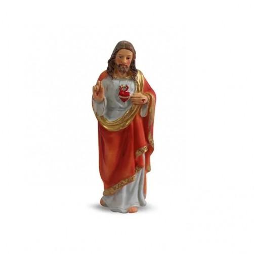 Jezus, kipec sveto srce, 12 cm