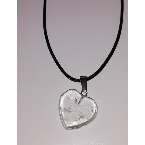 Kamena strela - ogrlica srce