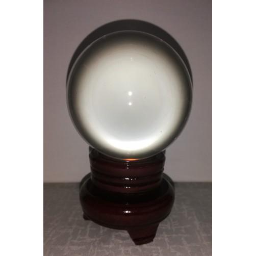 Kristalna krogla in podstavek 80 mm