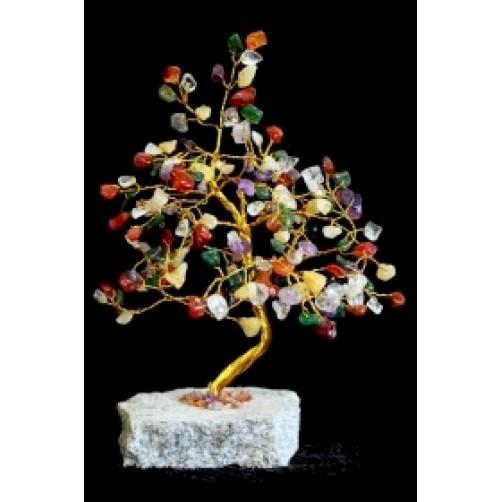 Feng Shui Kristalno drevo s 160 različnimi kristali