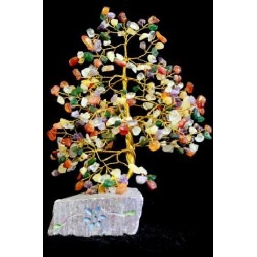 Feng Shui Kristalno drevo s 320 različnih kristalov