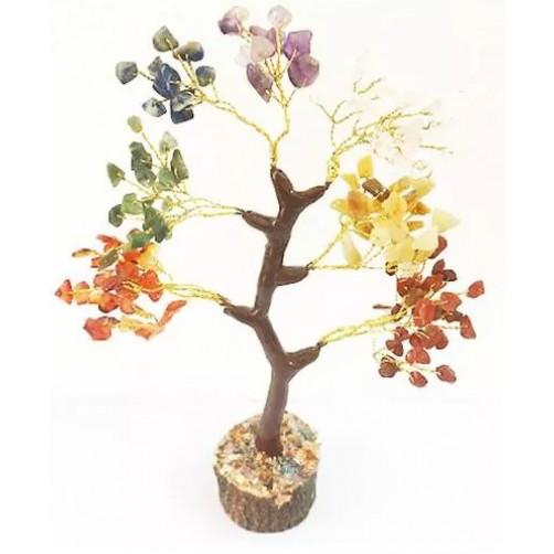 Kristalno drevo Sedem čaker, 160 kamnov