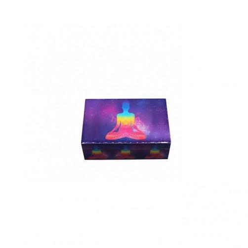 Lotus Buda laminirana škatla za shranjevanje