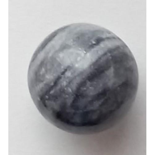 Marmorna krogla, siva 5 cm
