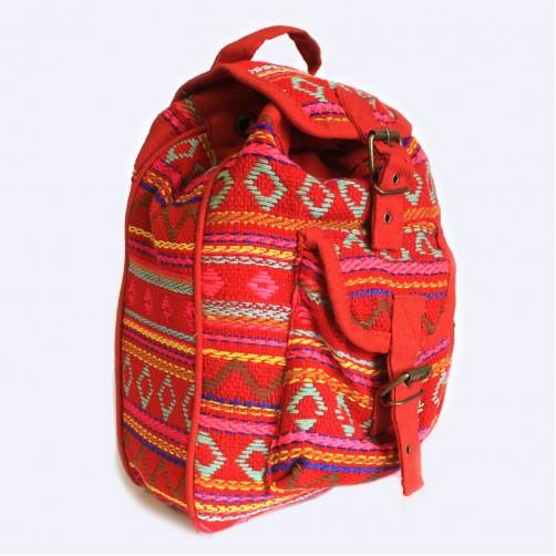Nepalski nahrbtnik ročno narejen, rozardeč