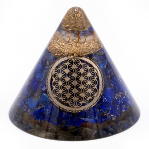 Orgonit Lapis Lazuli stožec 9 cm