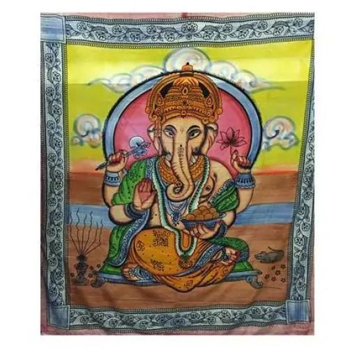 Pregrinjalo / rjuha iz indijskega bombaža Ganesh 240 x 210 cm