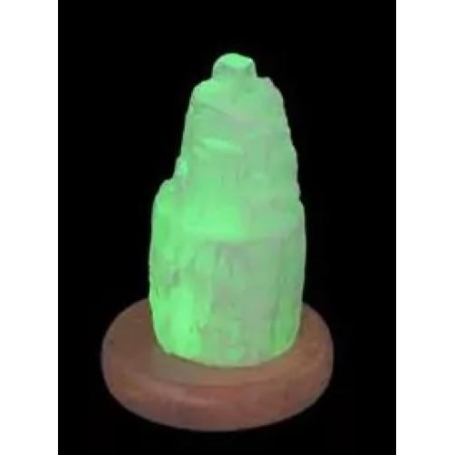 Svetilka iz selenita  10 cm