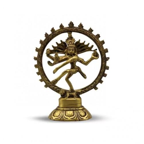 Shiva Natraj, kipec iz medenine