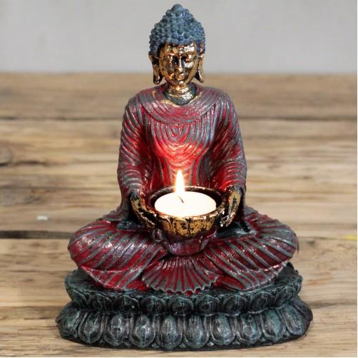 Kipec svečnik antični Buda