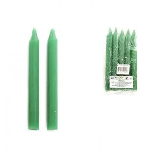Zelene obredne sveče Green Tree, 5 kom