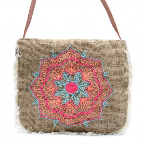 Trendovska torbica iz jute Mandala